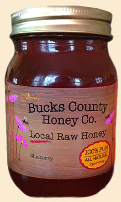 Local Raw Blueberry Honey - Lehigh Valley Pa