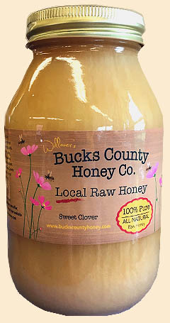 Local Raw Sweet Clover Honey  - Lehigh Valley Pa
